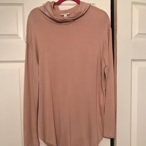 XL dusty pink long sleeve Daily Ritual shirt